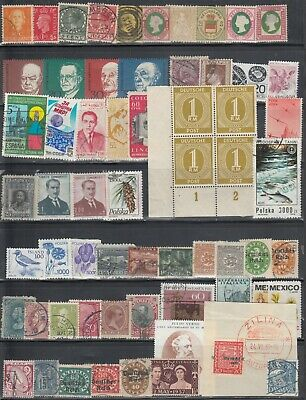 World Wide Mini Collection Of 60 Different Mint & Used. Incl 4 Heligoland Issues