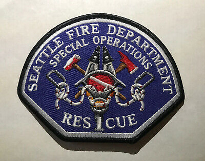 Seattle Fire Department Special Operations Rescue 1 R1 New Design Washington Wa