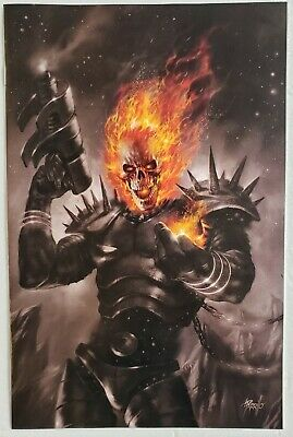 Cosmic Ghost Rider #1 Parrillo Virgin B&W Variant Ltd Higher Grade Sold Out