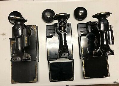 1933 1961 1947 Singer 221 Featherweight Sewing Machines Body Hull Parts