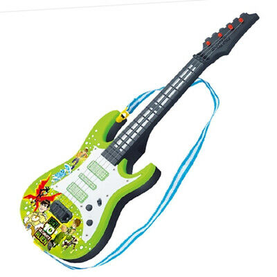 Kids Electric Guitar 4 Strings Rock Band Music Instruments Educational Toy
