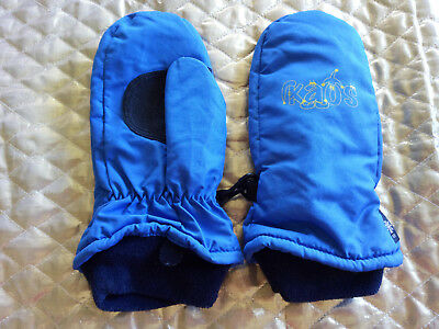 Kaos Blue Ski Mittens Size L / 4.5 (Child 6 yrs)