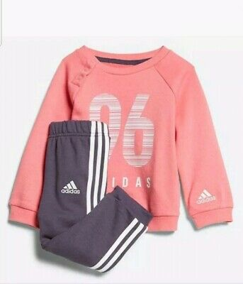 Infant Girls Adidas Tracksuit Age UK 3M - 4 Years