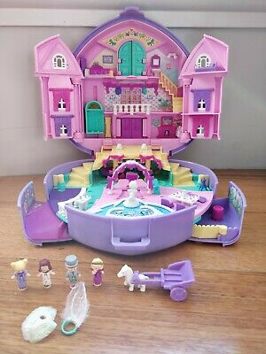 COMPLETE with MUSIC Vintage Polly Pocket - Polly's Wonderful Wedding Party