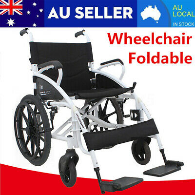 BIG SALE Aluminum Alloy Sports Athletic Wheelchair Foldable Lightweight 2350g