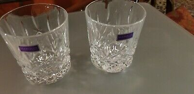 Marquis by Waterford 165118 Markham Double Old Fashioned Glasses (2 Pack)
