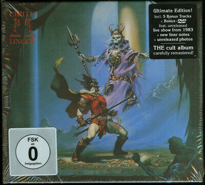 Cirith Ungol - King Of The Dead 2 x CD + LIVE DVD - SEALED Heavy Metal Album NEW