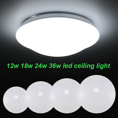 12W 18W 24W 36W LED Wall/Ceiling Down Lights Kitchen Bathroom Lamp Cool White