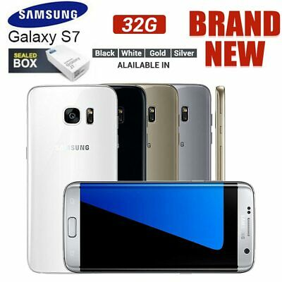 New Factory Unlocked  Boxed Samsung Galaxy S7 G930F LTE 4G 32GB Android Phone UK