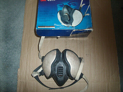 M3 4255 respirator mask organic vapour..used in box
