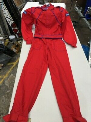 Sparco L Large Sized Overalls Coveralls Garage Mechanic Overalls Motorsport