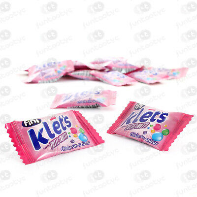 Chicle Klets Tutti Estuche 200 Chicles