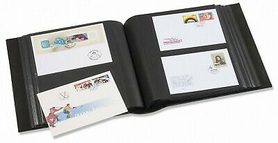 Album Leuchtturm Gigant 319991 Red 50 Black Pages for 200 FDC