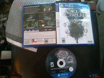 Call Of Cthulhu PS4 Sony Playstation RPG investigation game ex rental