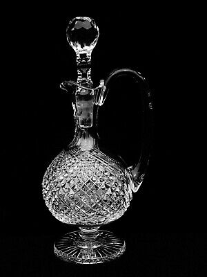 Brilliant Waterford Crystal Heritage Collection Master Cutter Claret Decanter