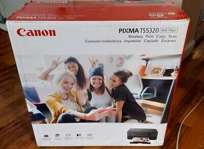 Canon PIXMA Wireless All-In-One WIFI Printer Scan Copy Bluetooth INK INCLUDED
