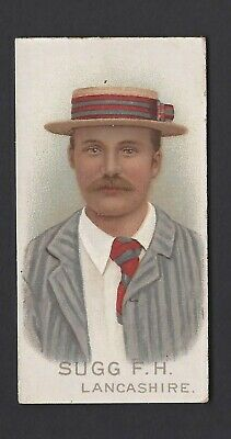 Wills - Cricketers, 1896 - Sugg F H, Lancashire