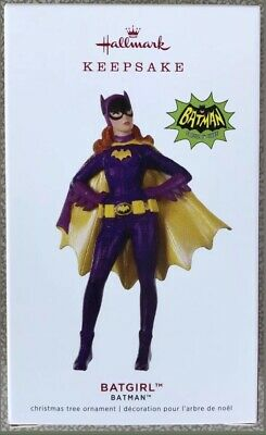 2019 Hallmark Limited Ed BATGIRL Classic TV Batman Series Ornament DC Comics