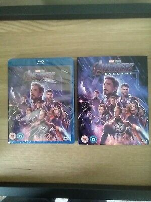 The avengers end game blu ray