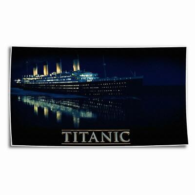 Titanic Ship Painting HD Canvas Prints Paints Home Decor room Wall Art Picture