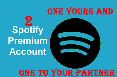 Two Premium Spotify Accounts Fully Private & Warranty Worldwide 🔥1H Delivery🔥