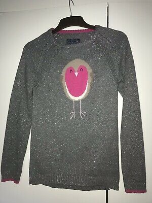 Girls Joules Christmas Jumper Age 11-12