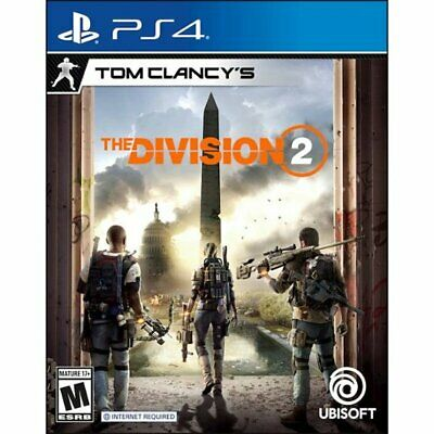 Tom Clancy's The Division 2 PS4 Playstation 4 Brand New Sealed