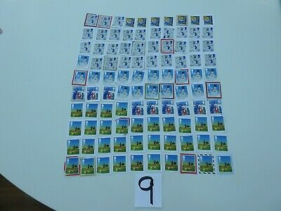 100 2nd Class Christmas GB  Unfranked Stamps On Paper