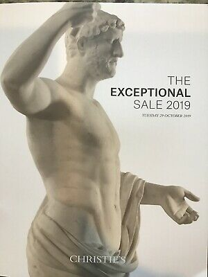 Christie's Catalog Exceptional Sale auction New York October 2019 current