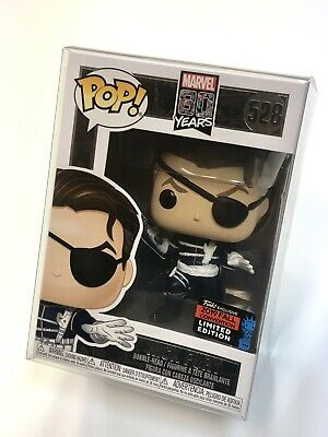Nick Fury 528 • Funko Pop • Marvel 80 Years • Limited* NYCC 2019 +PROTECTOR!