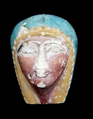 Rare Ancient Pharaoh Head egyptian statue antique bust queen (1539-1075B.C.E.)
