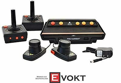 Atari Flashback 8 Gold HD with 120 games and 2 wireless controllers & 2 paddles
