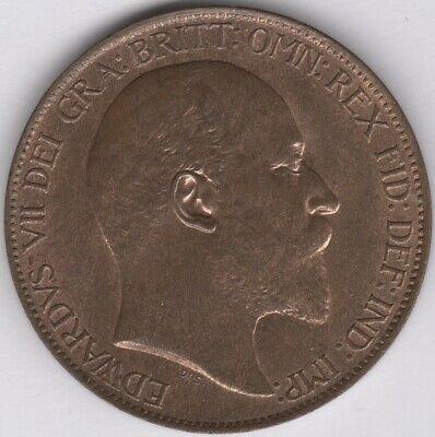 1910 Edward VII Halfpenny | British Coins | Pennies2Pounds