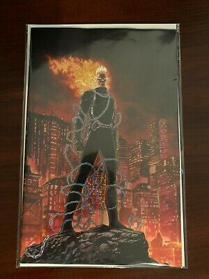 Marvel Comics Ghost Rider #1 Nycc  2019 Retailer Exclusive Variant Cover