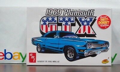 Plymouth 1969 GTX Dirty Donny Edition 1:25 scale AMT - HOBBY TIME MODEL SHOP