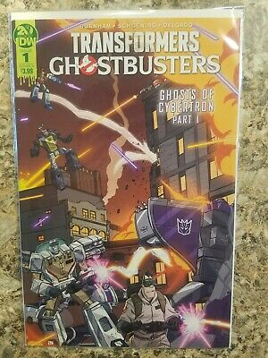 Transformers Ghostbusters #1 Ashcan Ghosts of Cybertron IDW CON EB16 2019