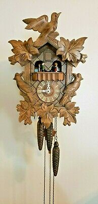 Musical German Cuckoo Clock