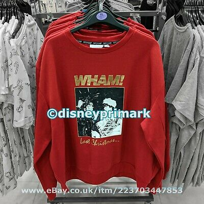 """Official WHAM! """"Last Christmas"""" JUMPER / SWEATER 1980 George Michael Live Aid UK"""