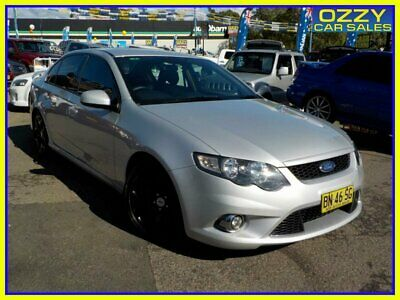 2011 Ford Falcon FG Upgrade XR6 Limited Edition Silver Automatic 6sp A Sedan