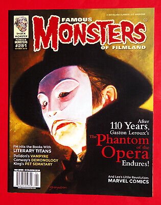The Phantom Of The Opera Famous Monsters Of Filmland Magazine October 2019