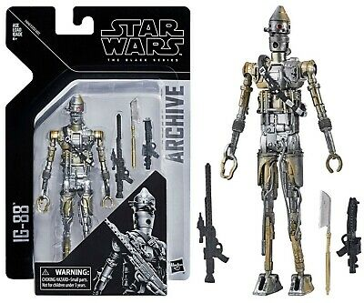 Star Wars The Black Series Archive IG-88 Figure Brand New Factory Sealed MOC