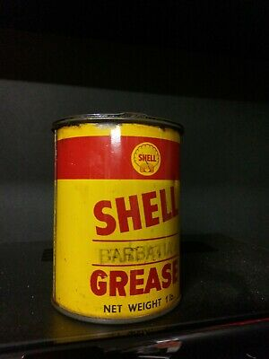 Shell Motor Oil Grease 1 Lb Tin
