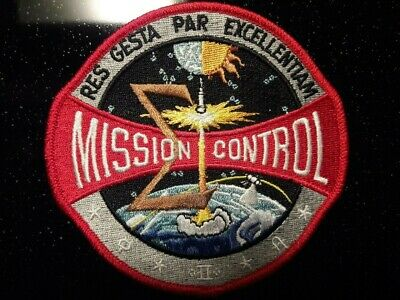 NASA Official Apollo Mission Control Flight Space Patch