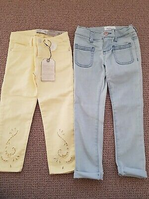 Country Road and Zara Kids Girls Summer Jeans Pants size 4