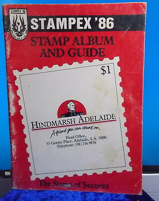 STAMPEX '86 1986 Philatelic Exhibition - Stamp Album and Guide Vintage ❤️OFFERS