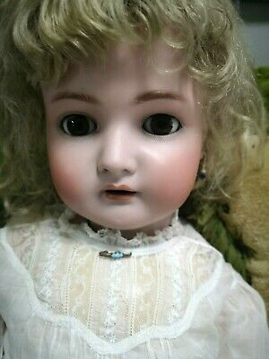 "Antique 33"" Kammer & Reinhardt/Simon & Halbig Bisque Child Doll, perfect cond."