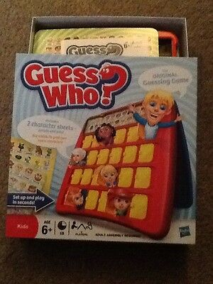 guess who board game, By HASBRO, Used But Still Needs Building Up, See Photos