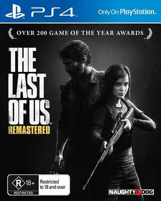 PS4 Playstation 4 The Last Of Us Remastered USED 30 Day Warranty
