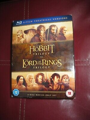 The Hobbit Trilogy And The Lord Of The Rings Trilogy [Blu-ray] (2016)