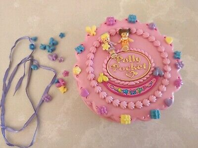 Vintage Polly Pocket Birthday Surprise 99 percent complete